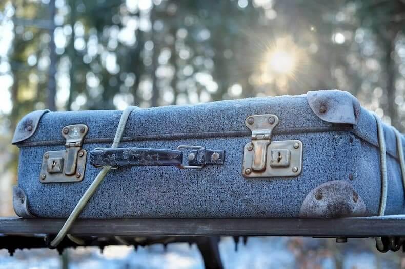 Ubezpieczony bagaż podczas podróży samochodem