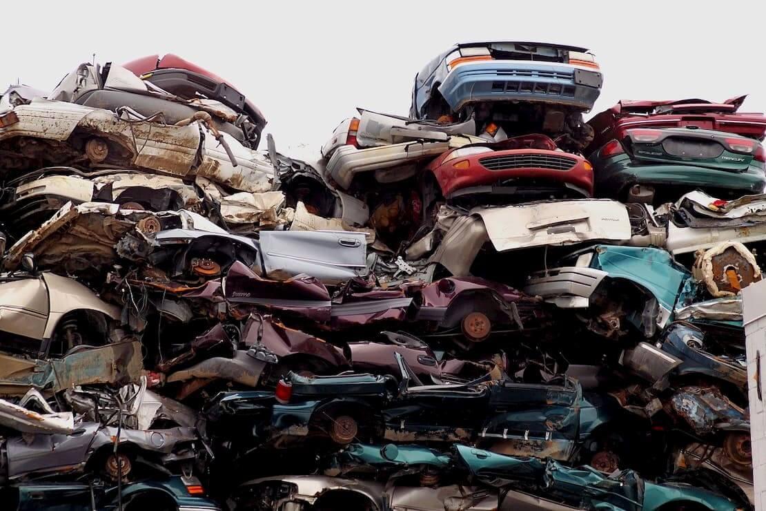 Samochody przeznaczone do złomowania